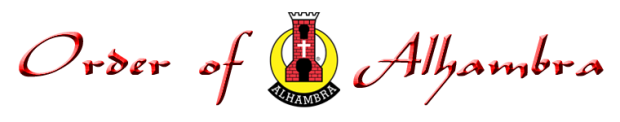 Order of Alhambra, a Catholic Fraternal Order