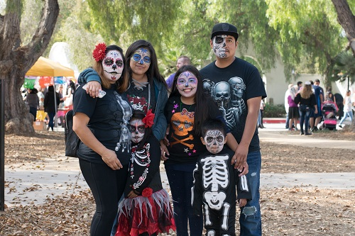 Dia de los Muertos, or Day of the Dead Festival
