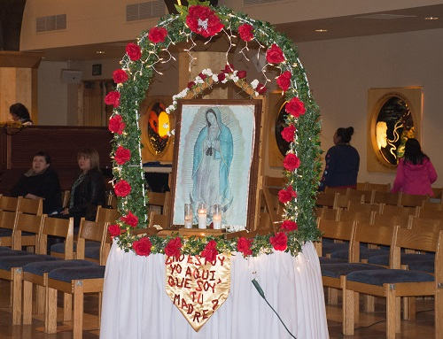 Celebrations for Our Lady of Guadalupe
