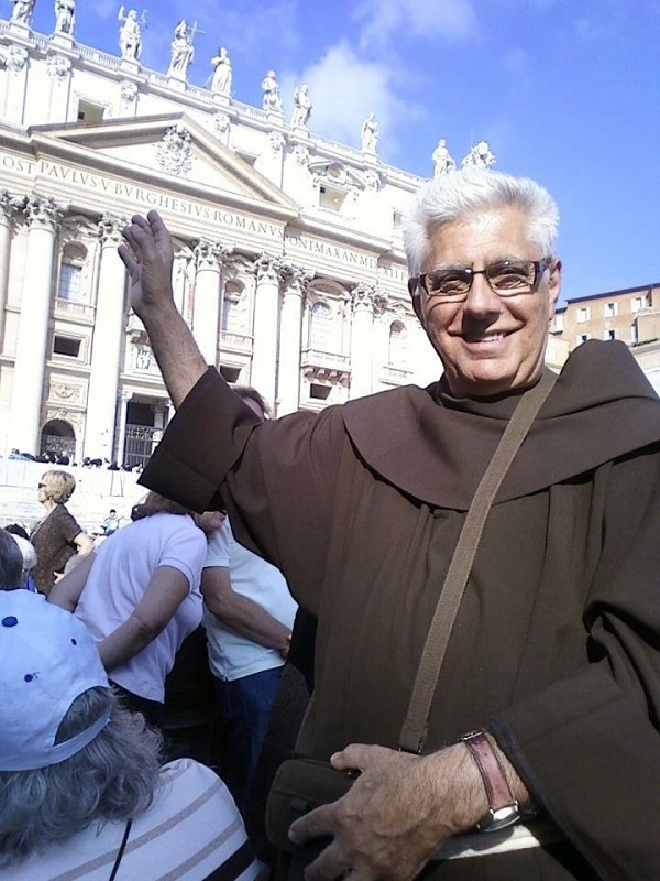 Fr. Vince in Rome