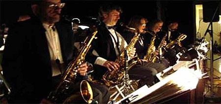 Premier Swing Band Enroute to San Luis Rey Parish!