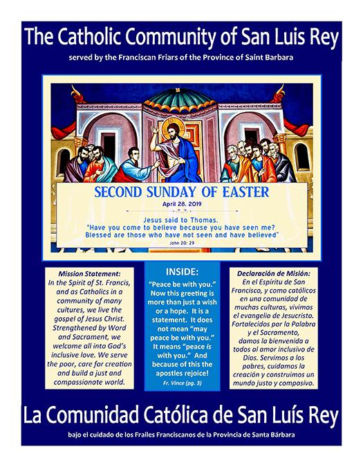 Bulletin for 4-28-19