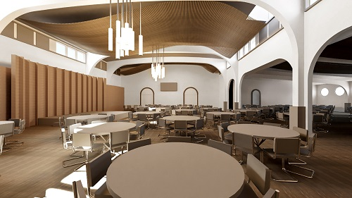 St. Francis HALL - A Space Renewed