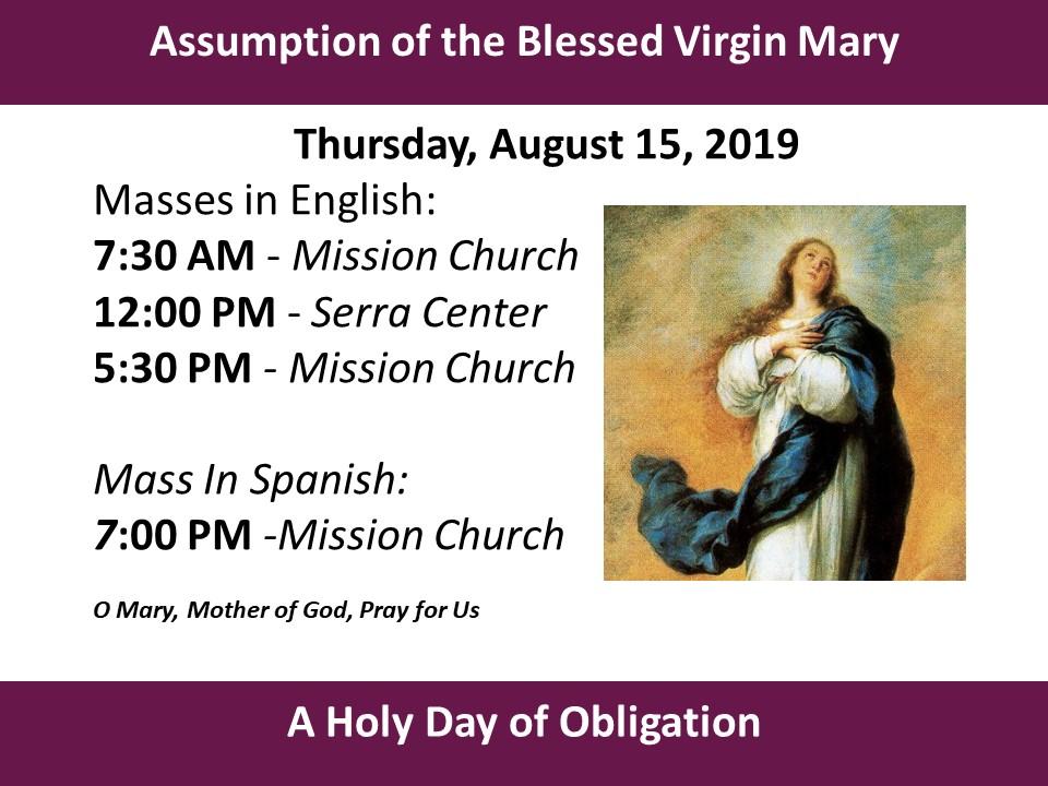 Worship - Mission San Luis Rey Parish