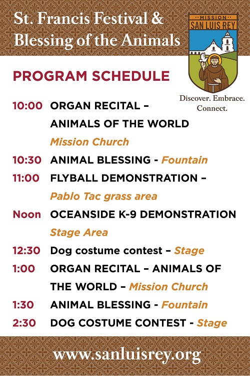 St. Francis Festival and the Blessing of the Animals