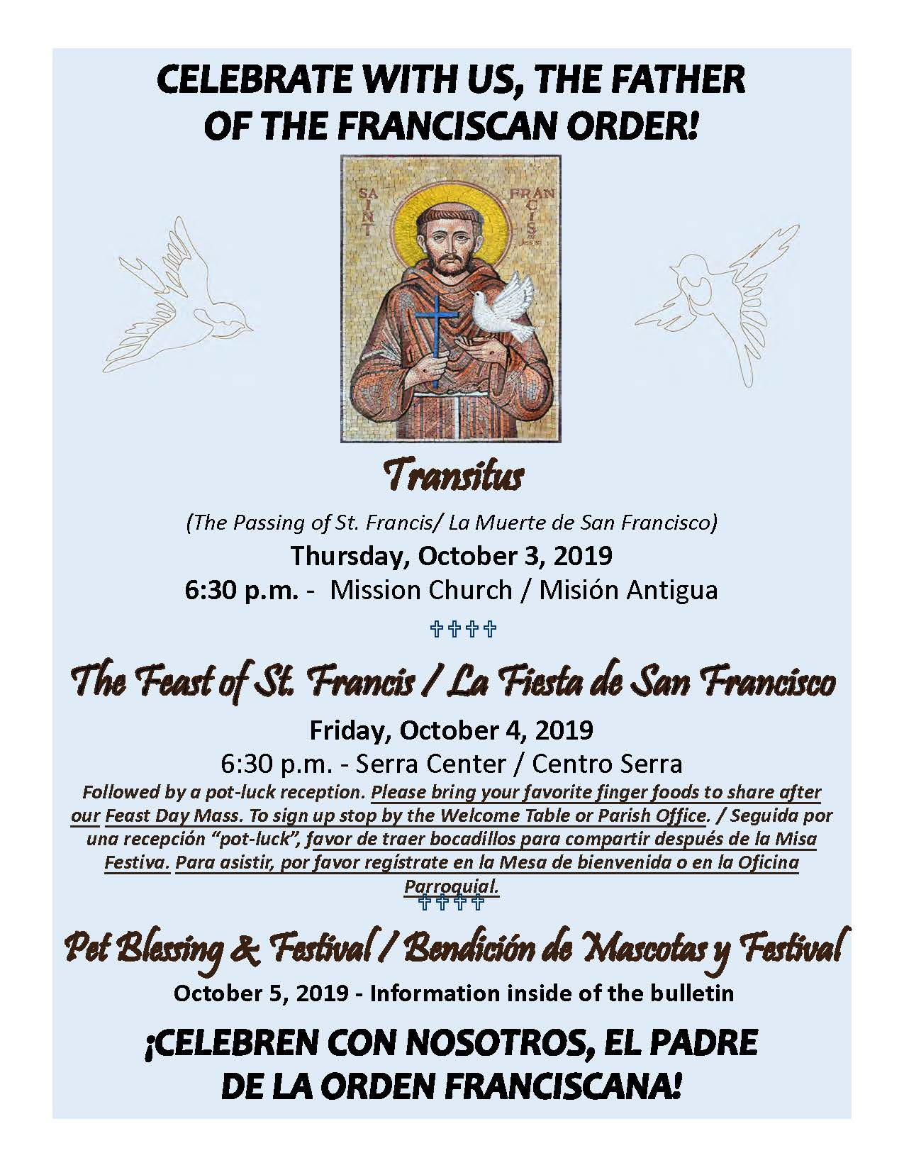 Celebrating St. Francis