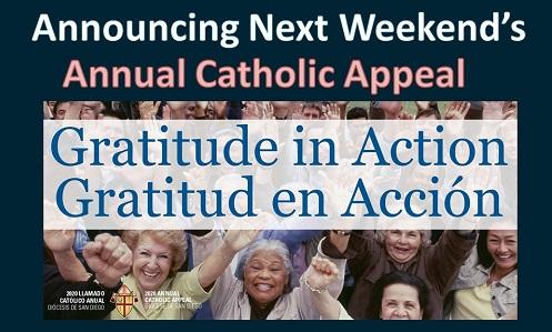 Next Weekend – Gratitude in Action