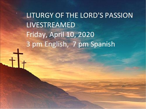Good Friday Solemn Liturgy in English
