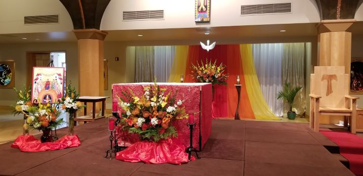 Celebrating Pentecost at Mission San Luis Rey Parish