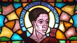Today's saint: Karoli Lwanga Omutukirivu.