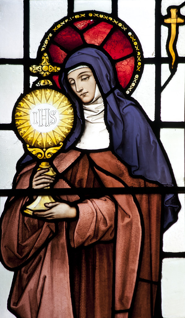 Feast of St. Clare of Assisi / Blessing of Solar Panels