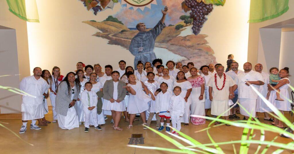 Samoan Choir, 2018 for White Sunday