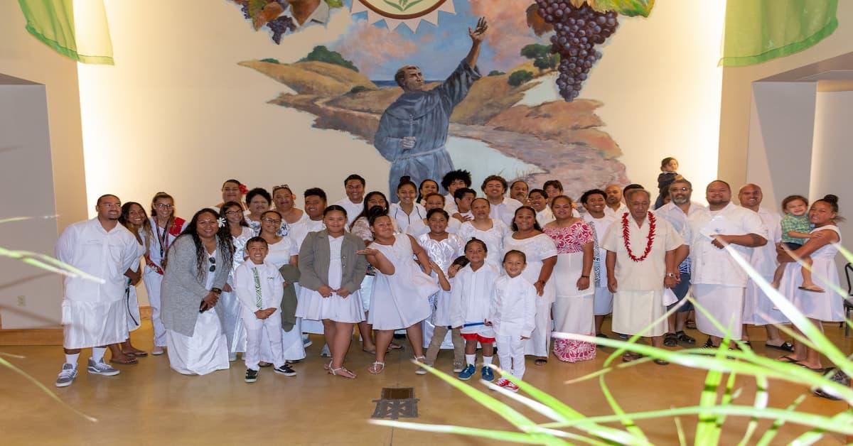 Domingo Blanco de la Comunidad Samoana