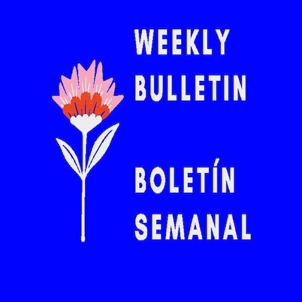 Bulletin for 5-16-2021