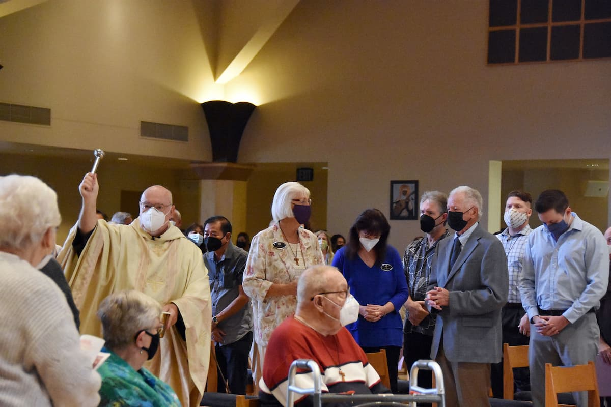Wearing Masks at Mass